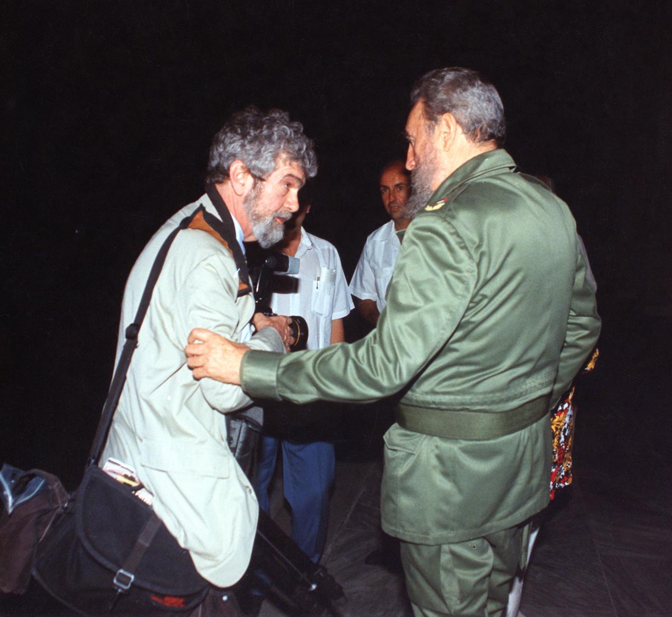 1998 Cuba with Fidel Castro